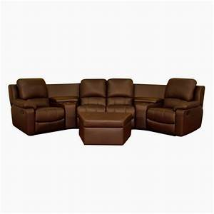 Best reclining sofa best reclining sofa 49 with for Sectional sofa with one recliner