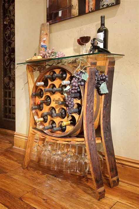 brilliant diy ways  reusing  wine barrels