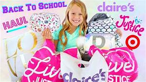 daya daily back to school haul clothes and makeup