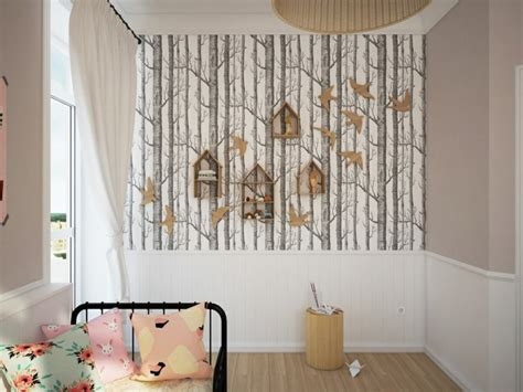 papier peint fille chambre chambre design d 39 enfant 25 photos originales
