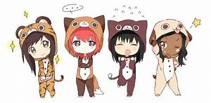 chibi_friends__d_by_kokoroyukiyume-d5agzol.png (582×286 ...
