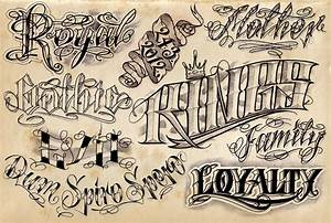 12 cool tattoo lettering designs project 4 gallery With tattoo letter stencils