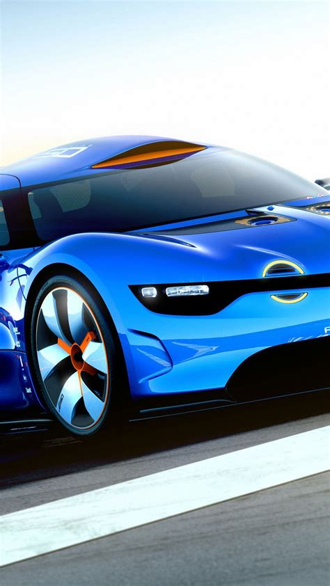 blue lights for cars renault alpine concept car light blue android wallpaper