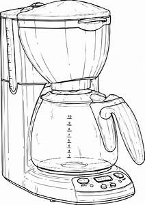Coffee Maker Clip Art At Clker Com