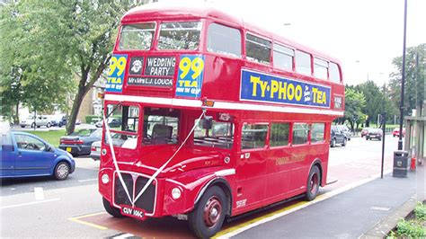 routemaster london wedding bus hire  london bedford