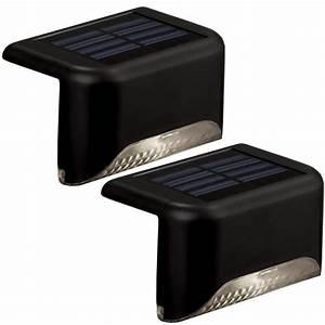 Portfolio light black led railing deck kit at