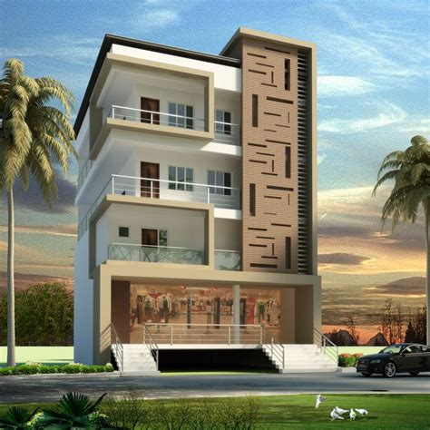 apartment elevation design architectural design