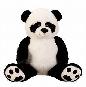 Riesen Panda Kuscheltier : riesen pandab r kuschelb r xxl 100 cm gro pl schb r kuscheltier panda kuschelig ebay ~ Orissabook.com Haus und Dekorationen