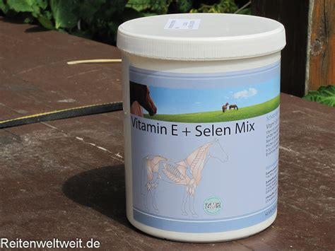 wichtige vitamine fuer das pferd gesunde ernaehrung