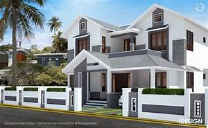 Compound wall design in kerala joy studio gallery