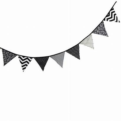 Banner Clipart Pennant Triangle Flag Birthday Bunting