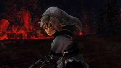 Link Fierce Vs Zelda Hyrule Oni Warriors