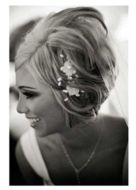 Wedding Hairstyles For Bob Hair by Wedding Hairstyles For Hair The Best