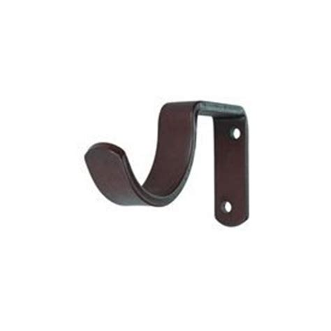 metal curtain rod brackets 2 1 2 inch projection for 2 1 4