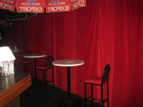red recording studio noise reducing sound proofing velvet