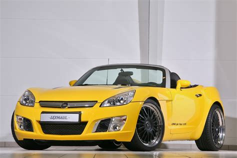 Opel Roadster by Lexmaul Opel Gt Roadster With 312hp Carscoops
