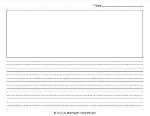 Lined Handwriting Paper Template Landscape   Beatiful ...