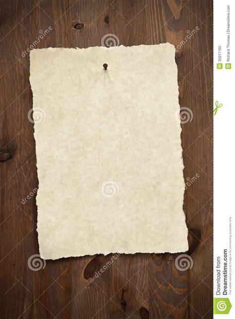 blank parchment paper   door stock photo image