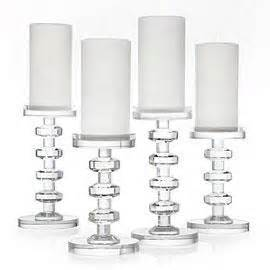 cristallo pillar crystal candle holders With what kind of paint to use on kitchen cabinets for candle pillar holders set of 3