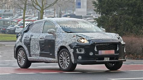 ford ecosport replacement spy shots