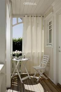 Vorhang Für Balkon : outdoor vorh nge sch tzen vor sonne wind und regen ~ Watch28wear.com Haus und Dekorationen