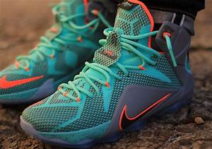 Nike LeBron 12 NSRL - On-Foot Photos