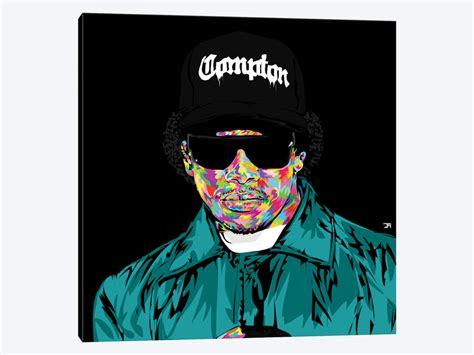 Eazy E Art Print By Technodrome1