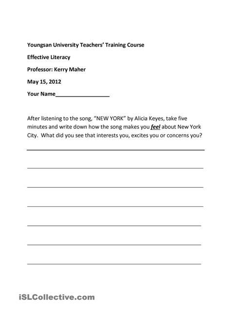 esl writing worksheets for middle school homeshealth info