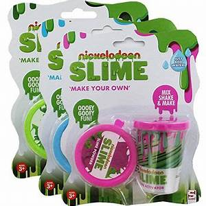 Nickelodeon Make Your Own Slime Toys Bundle | Toy Sets at ...