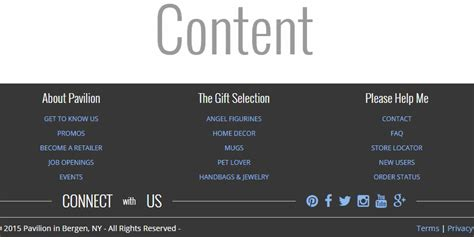 pure css responsive footer design codemyui