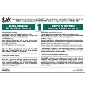 simple green clean building  purpose cleaner secondary