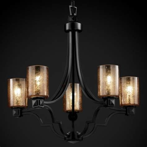 Justice Design Chandeliers by Fusion Mercury Glass Argyle Chandelier By Justice Design