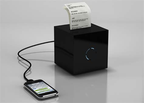 print photos from your phone portable printer plugs into your phone prints text
