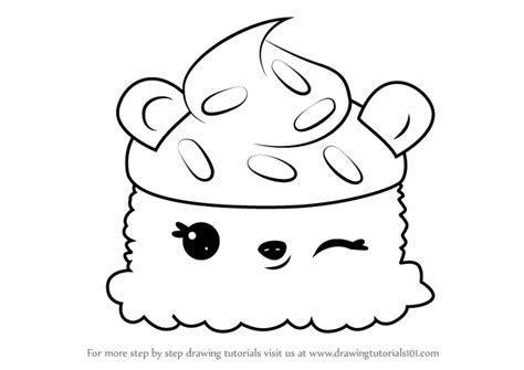 Learn How To Draw B.b. Scoops From Num Noms (num Noms