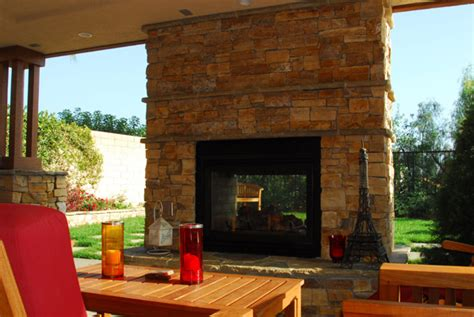 outdoor fireplace by land mechanics inc www