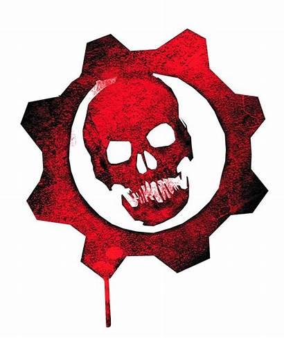 Gears War Skull Logos Gear Cool Tattoo