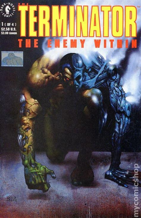 terminator  enemy   comic books