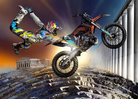 Motocross Red Bull X Fighters Athens Attica Region Greece