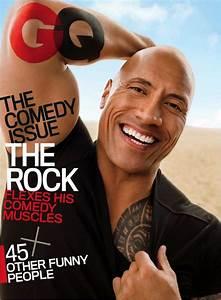 Dwayne 'The Rock' Johnson Covers GQ, Stars in Cheeky Shoot