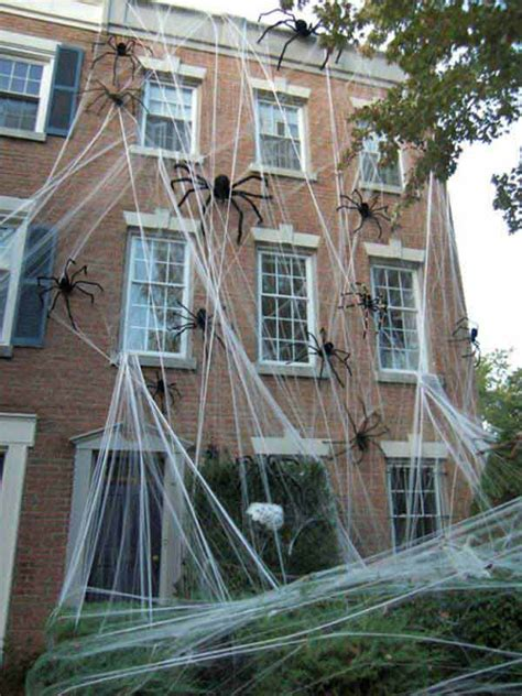 How To Decorate With Spider Web - 36 top spooky diy decorations for