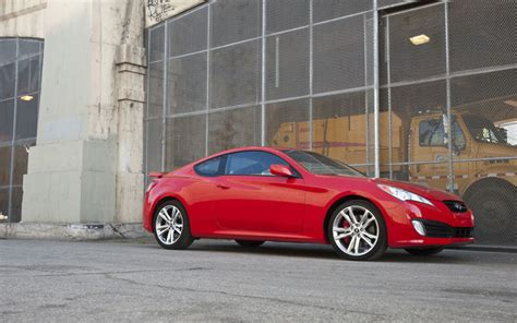 Hyundai Genesis Coupe Track by 2010 Hyundai Genesis Coupe 3 8 Track Test Of The