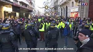 Blocage 17 Novembre Paris : vid o des gilets jaunes tout pr s de l 39 lys e une faille dans le dispositif de s curit lci ~ Medecine-chirurgie-esthetiques.com Avis de Voitures
