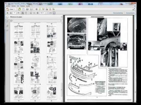 volkswagen passat b5 manual de servicio taller reparacion esquemas electricos youtube