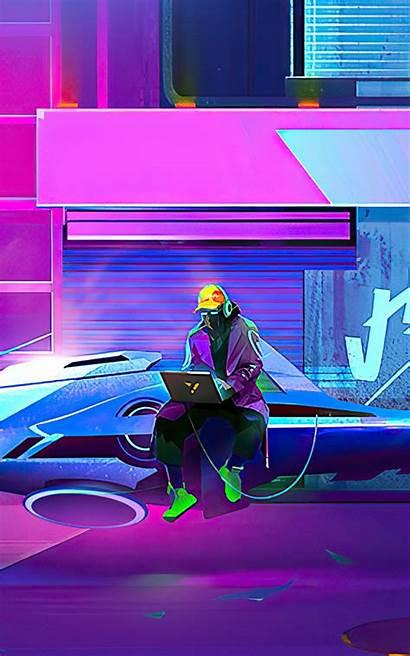 Hacker Cyberpunk Wallpapers Note 4k Tablets Nexus