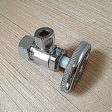 sink water shut off valve types of water shutoff valves