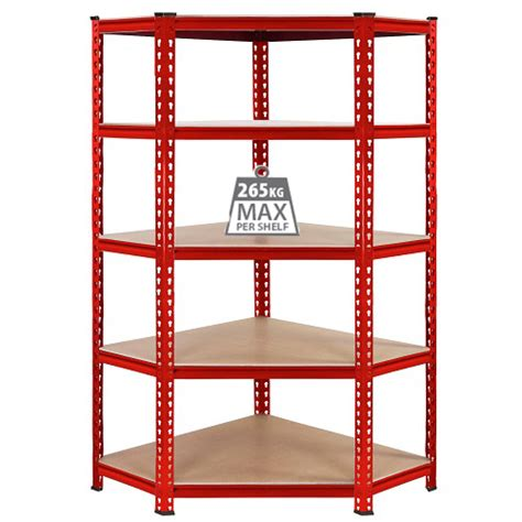 Garage Storage Racking Shelving by Corner Industrial Racking Garage Shelving 90cm Storage