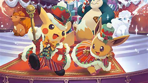 christmas show collection announced  japan pokemon