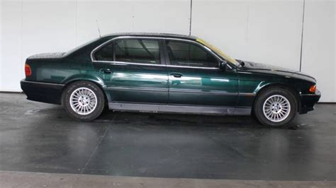 1998 Bmw 740il by 1998 Bmw 740il E38 Green 5 Speed Auto Steptronic Sedan