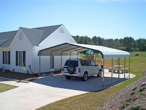 Car Port Metal by Metal Carport Kits Do Yourself Allstateloghomes