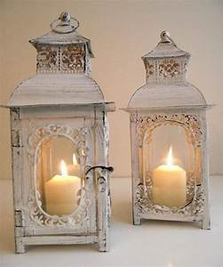 Meuble Shabby Chic : antique look candle lanterns decoration with cuisine shabby chic ~ Preciouscoupons.com Idées de Décoration